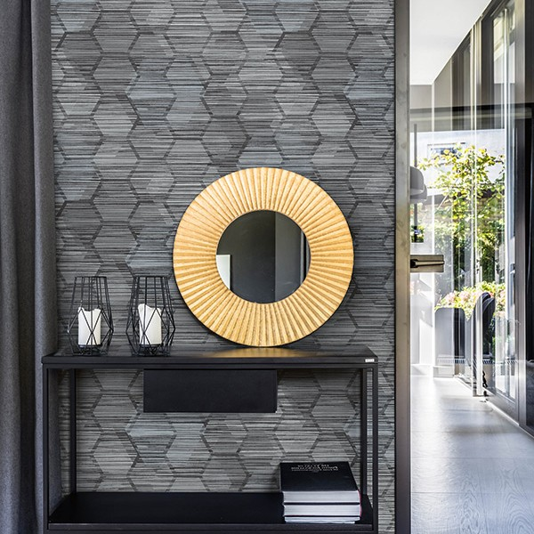 Geometric wallcoverings Jabari-220632