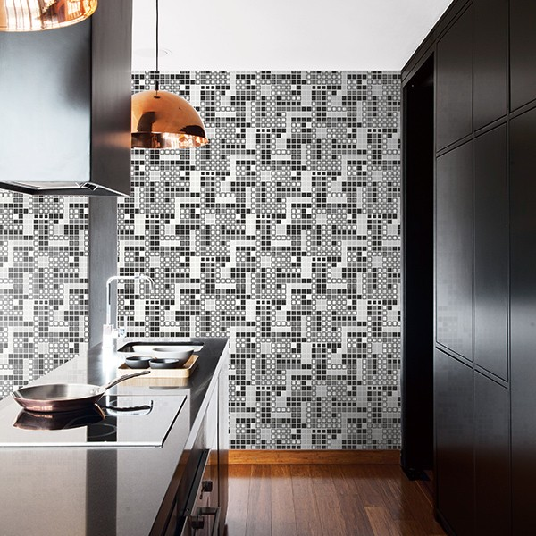 Geometric wallcoverings Bantry-228267