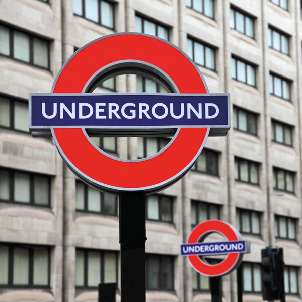 Murals Road signs and billboards Underground Sign-8F9CFC