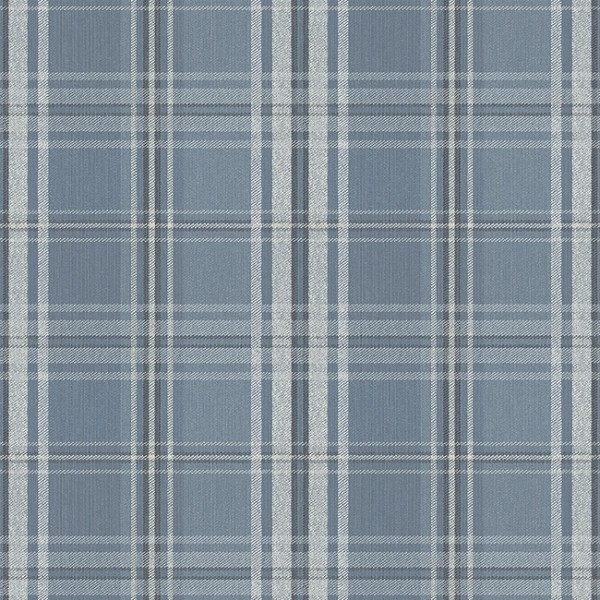 Geometric wallcoverings Plaid With Squares-214897