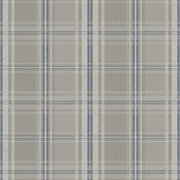 Geometric wallcoverings Plaid With Squares-231903