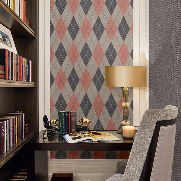 Geometric wallcoverings Argyle-372904