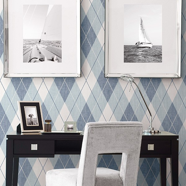 Geometric wallcoverings Argyle-289676