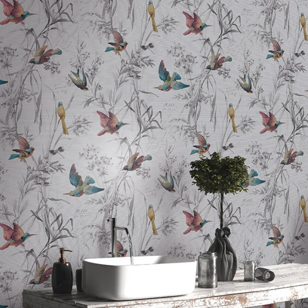 Design Wallcoverings Birds Of Paradise-169896