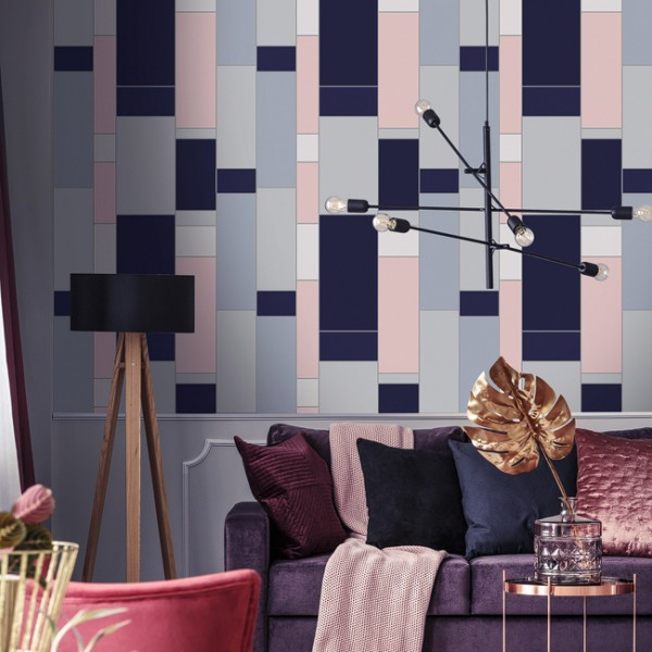 Geometric wallcoverings Big Geometric-149842