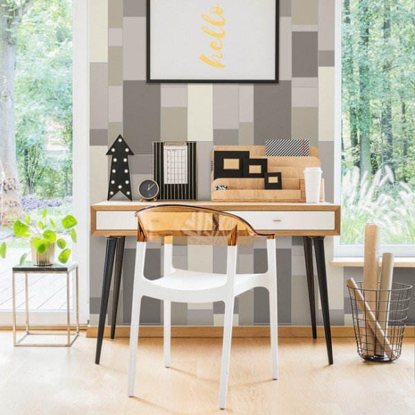 Geometric wallcoverings Big Geometric-333089