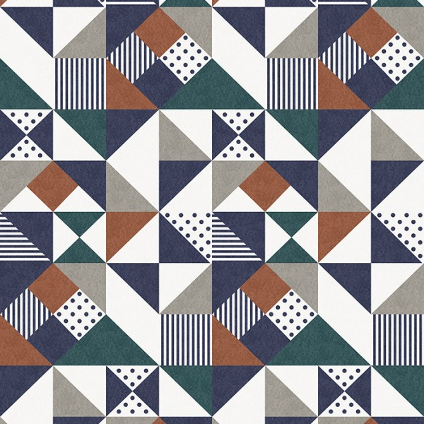 Geometric wallcoverings Geometric Mosaic-781903