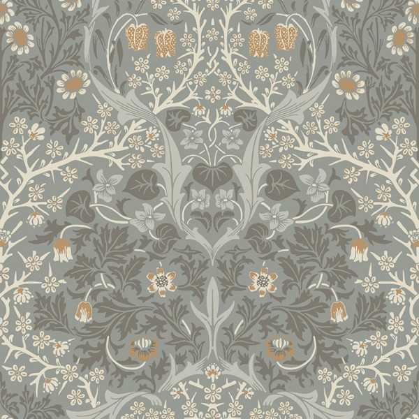 Floral wallpaper Blackthorn-449458