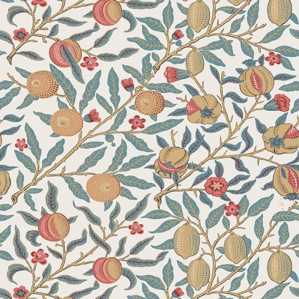 Floral wallpaper Pomegranate-182828