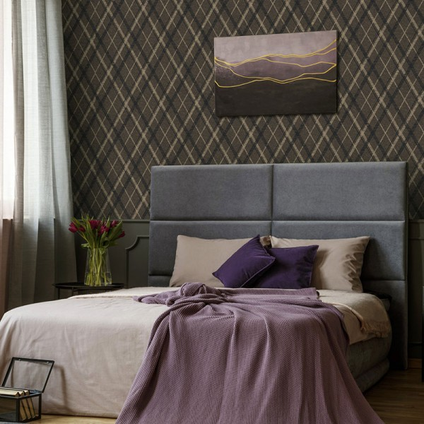 Geometric wallcoverings Noble Argyle-190262
