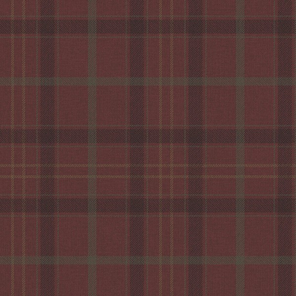 Tapeten Rot Plaid Tailored-113745
