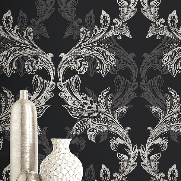 Classic wallpapers Metallic Ornament-219499