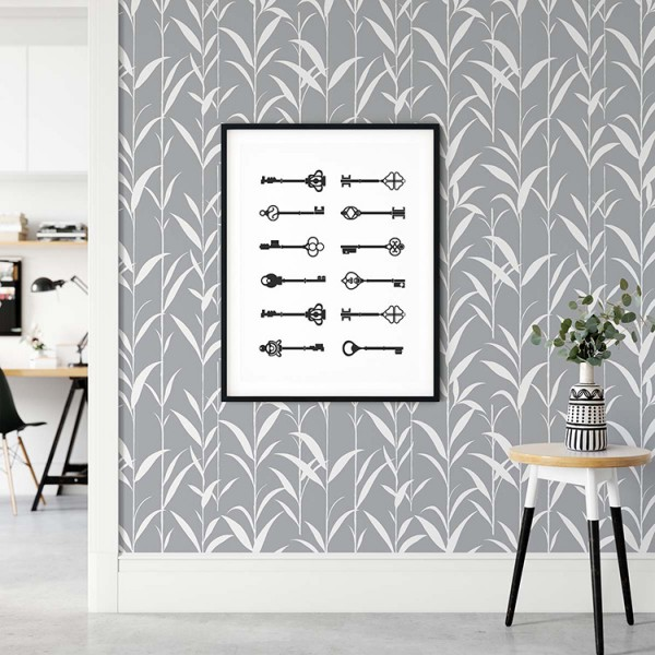 Peel and Stick Wallpaper Young Bamboos-655294