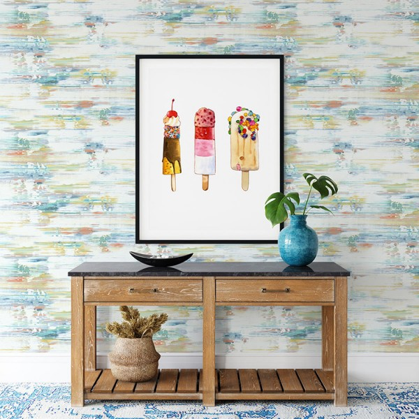 Peel and Stick Wallpaper Colorful Emotions-460059