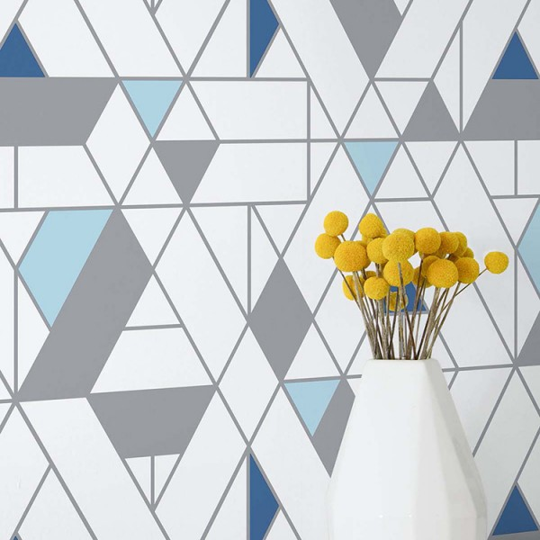 Peel and Stick Wallpaper Colorful Mosaic-158742