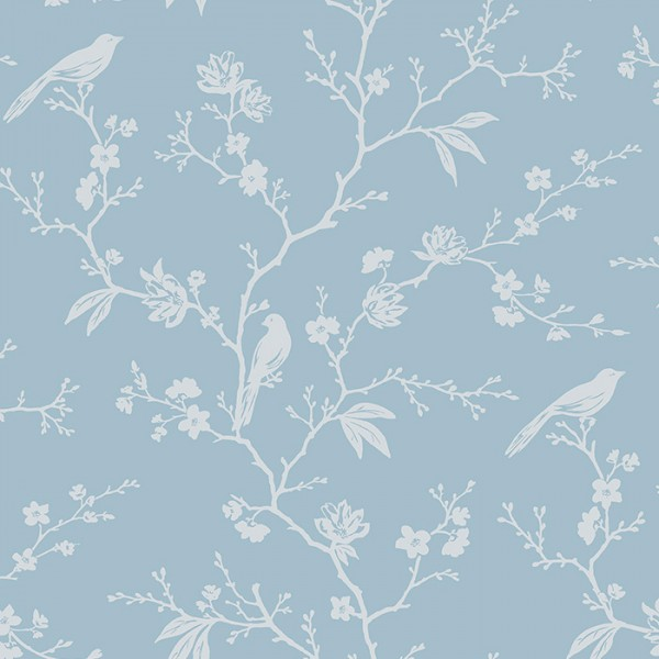 Floral wallpaper Chinoiserie Trail-121725
