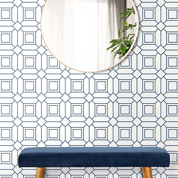 Geometric wallcoverings Big Lattice-342347