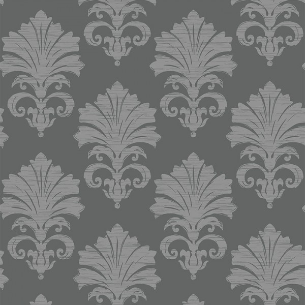 Tapeten Grau Original Damask-134439
