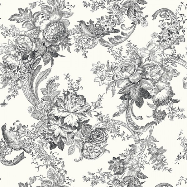 Wallpaper white Carmel-664929