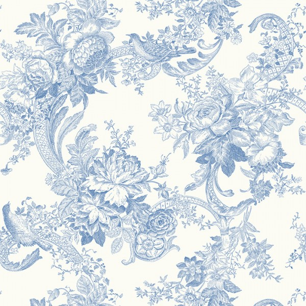 Floral wallpaper Carmel-121526