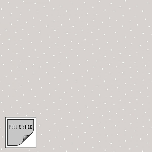 Peel and Stick Wallpaper Bright Dots-257378