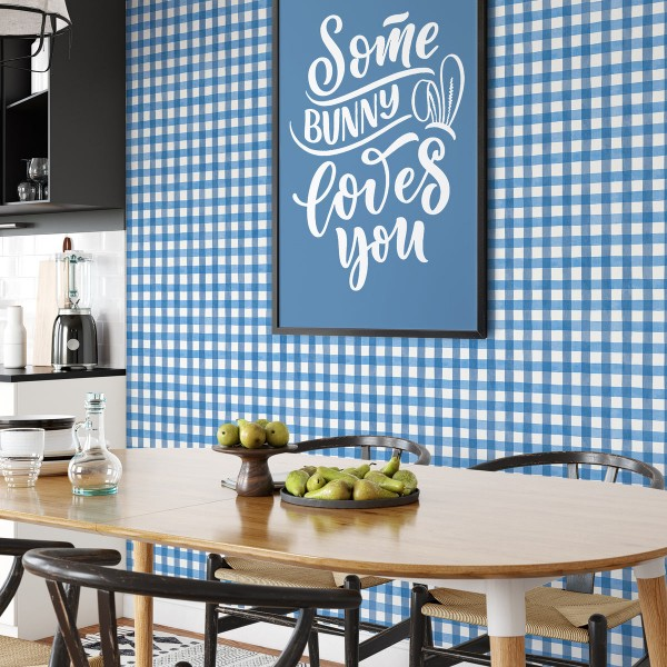Peel and Stick Wallpaper Spring Plaid-821853