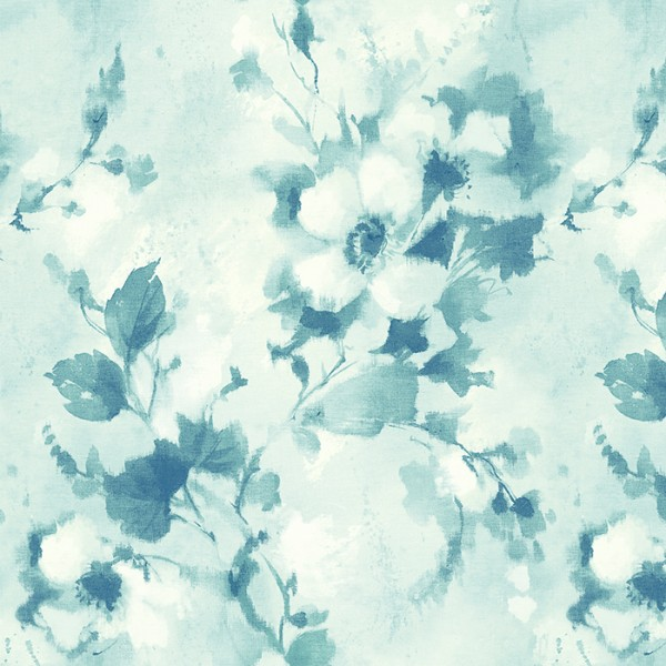 Floral wallpaper Shibori Trail-274561