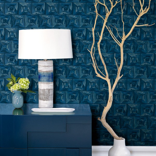 Geometric wallcoverings Painted Squares-172620