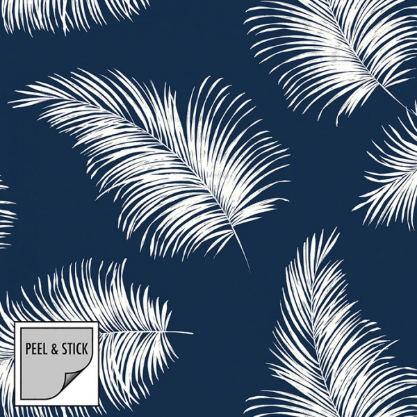Peel and Stick Wallpaper Tossed Palm-126240