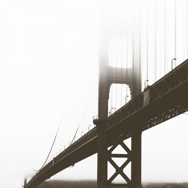 Фотообои Мосты и статуи Bridge in San Fransisco-254BFC