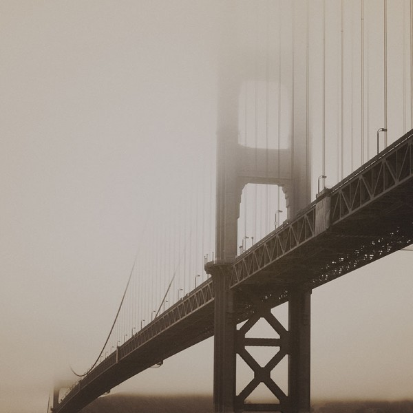 Фотообои Мосты и статуи Bridge in San Fransisco-6DBF89