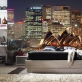 Murals Countries and Cities Night Sydney-F26494