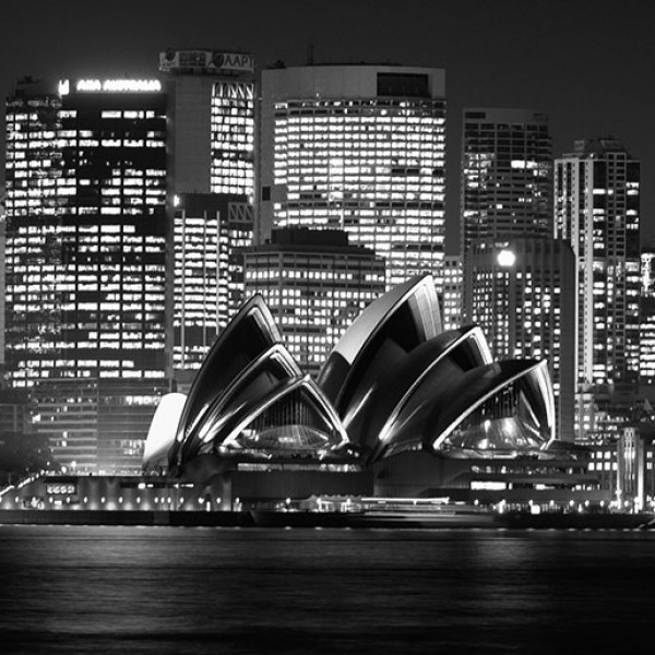 Murals Countries and Cities Night Sydney-850A2C