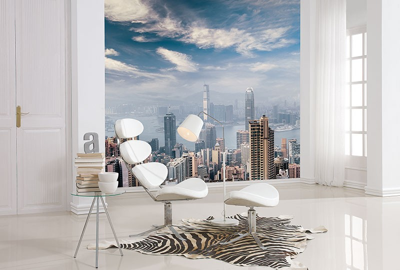 Murals Countries and Cities Hong Kong City-C103FE