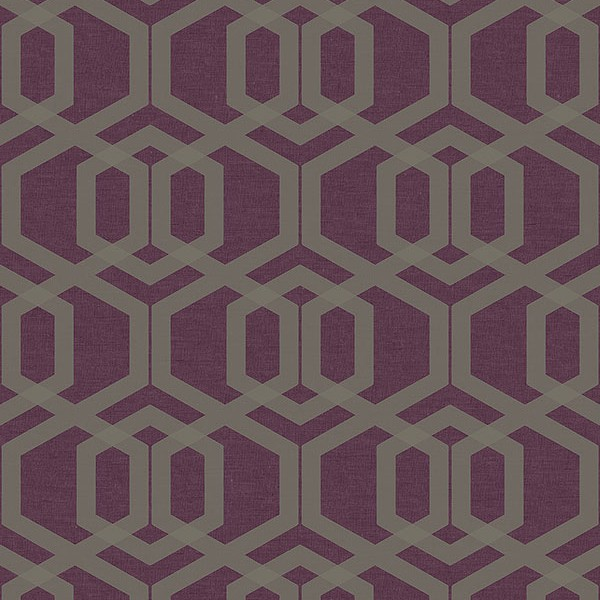 Geometric wallcoverings Cyrus-A9D9A6