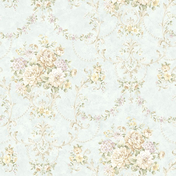 Floral wallpaper Acle-C6496F