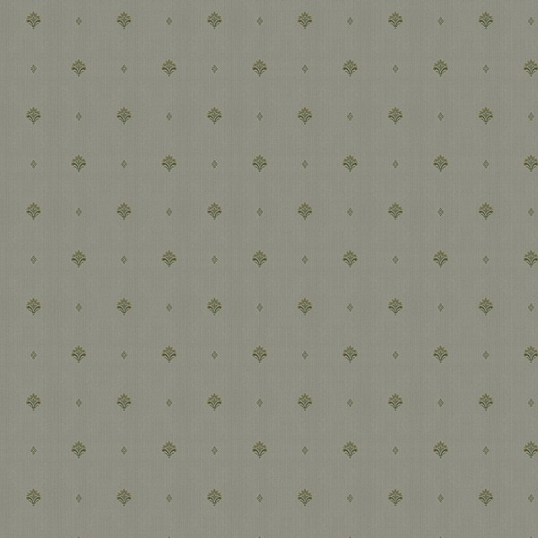 Textile wallpaper Heather-8EC9D4
