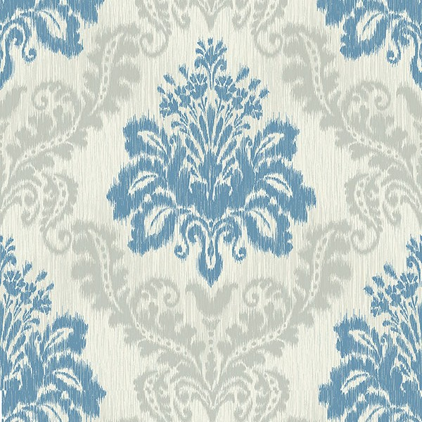 Baroque wallpaper Colored Damask-18D9AA