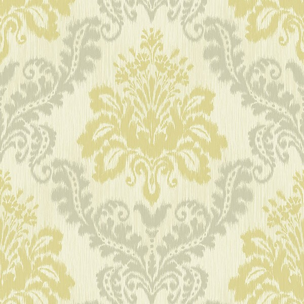 Baroque wallpaper Colored Damask-0AA72C