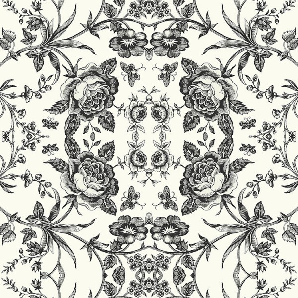 Floral wallpaper Ann-68F083