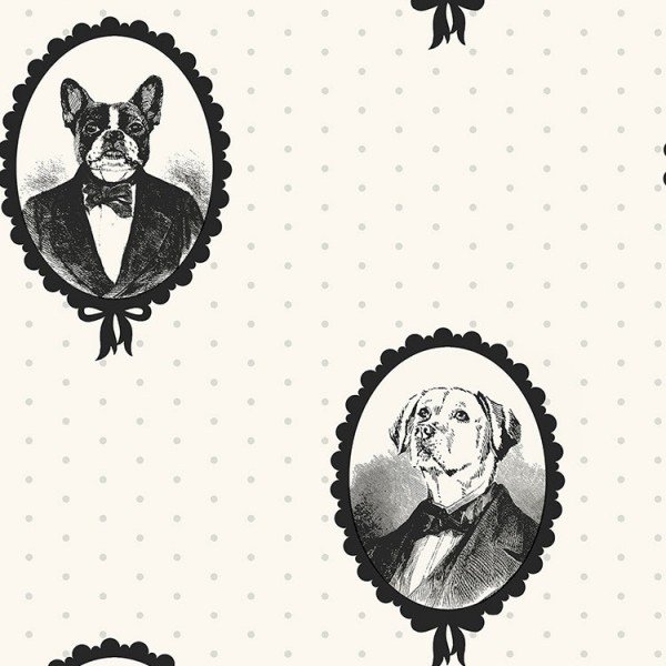 Design Wallcoverings Doggy-B4EBF8