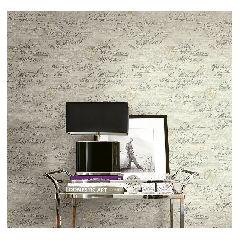 Design Wallcoverings Old Writings-347DFF