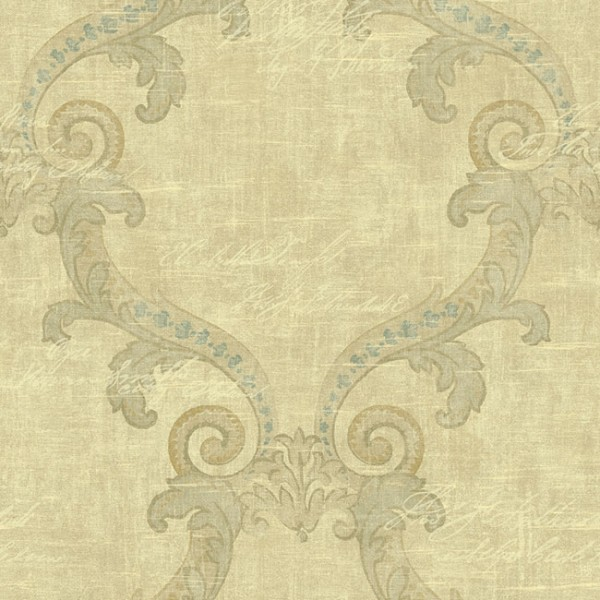 Baroque wallpaper Summerside-9C6C11