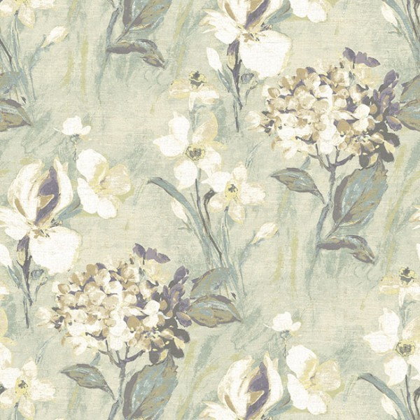 Floral wallpaper Driffield-7A3F0F