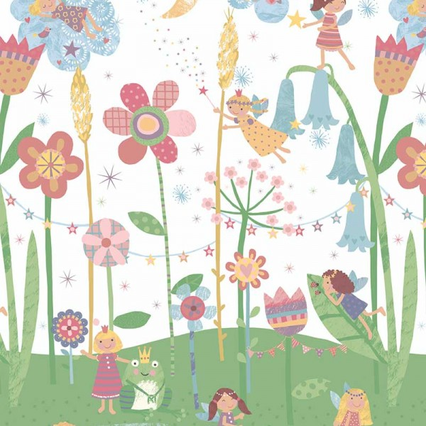 Fototapeten Kindermotive Fairy and Flowers-17770E