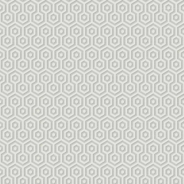 Geometric wallcoverings Hexagons-0A6659