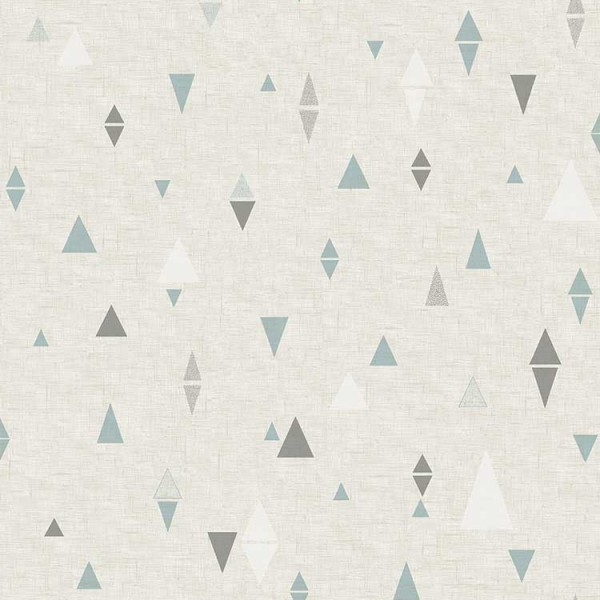 Geometric wallcoverings Triangles-FCEF8C