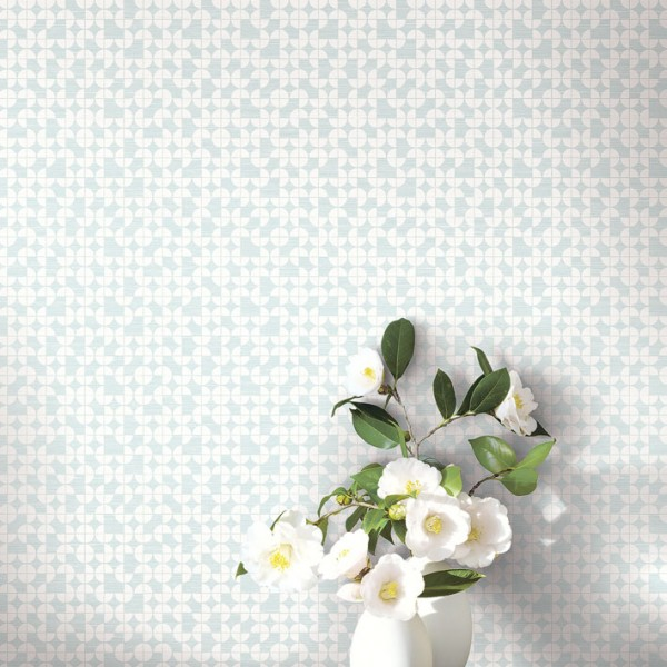 Geometric wallcoverings Circle Tiles-AF586D