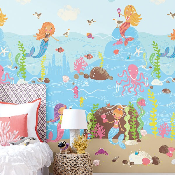Murals Kids theme Mermaids-C9013D