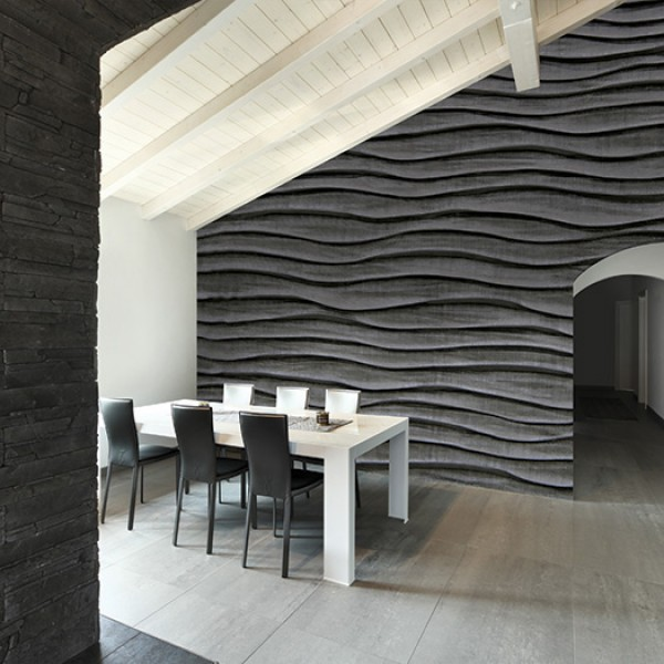 Murals Concrete Imitation Ripples-837726